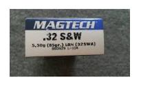 32 S&W MAGTECH