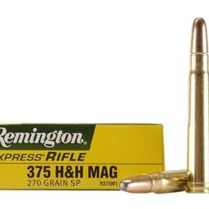 Balas remington 375h&h mag 270gr sp