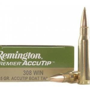 REMINGTON cal.308 165gr accutip boat tail