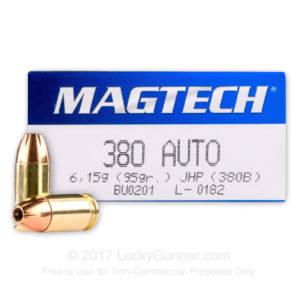 magtech 380 auto 95gr jhp