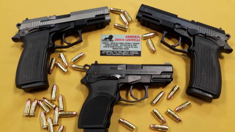Pistolas BERSA 9mm